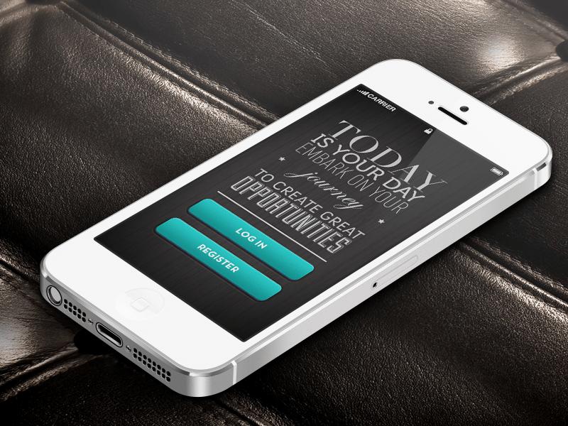 typographie mobile