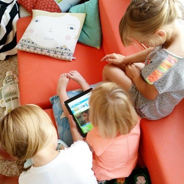 Le design ux pour les enfants for Les enfants design