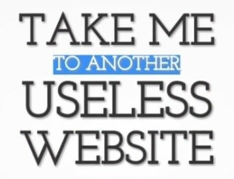 Do-not-create-another-useless-website