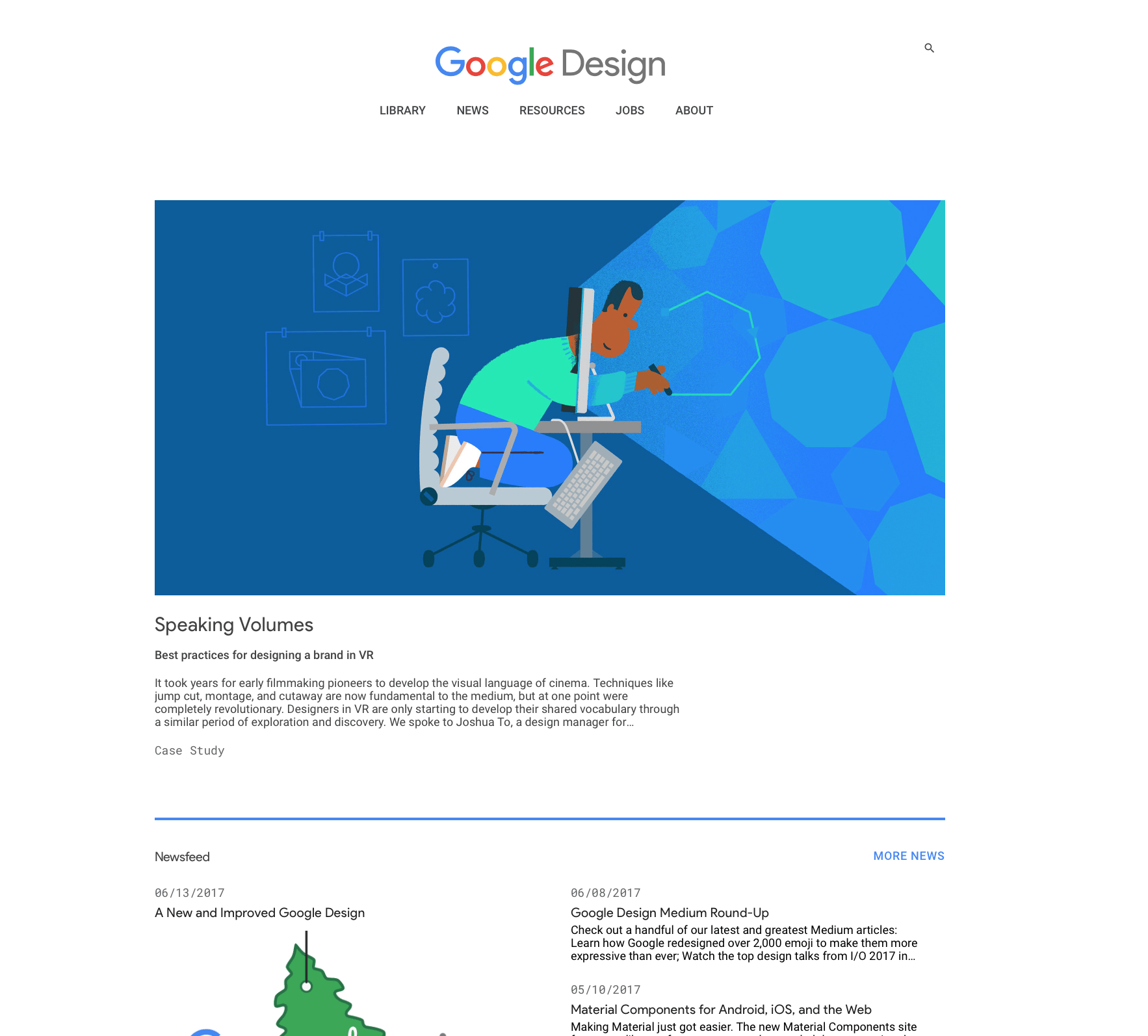 D couvrez la nouvelle interface de google design - Google home page design ...